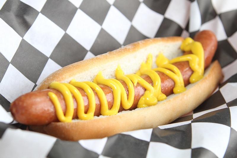 Jared's hot dogs and hamburgers