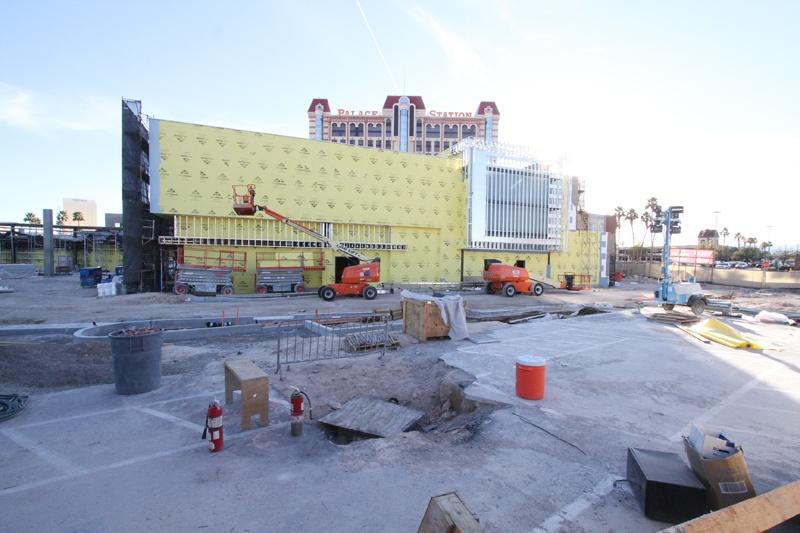 Palace Station construction