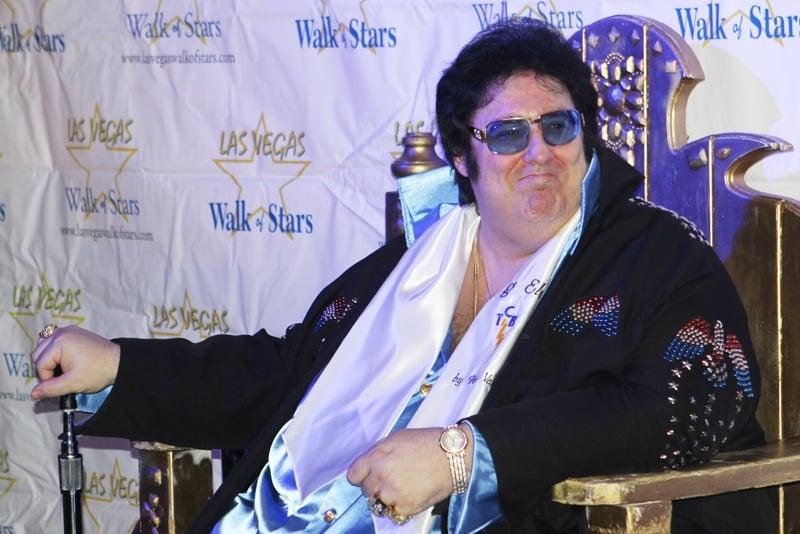 Big Elvis Las Vegas Walk of Stars