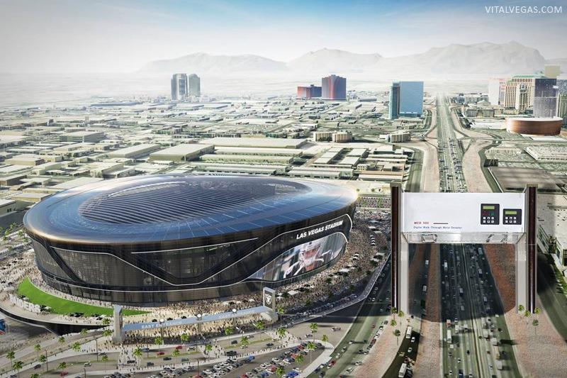 Las Vegas Raiders metal detector