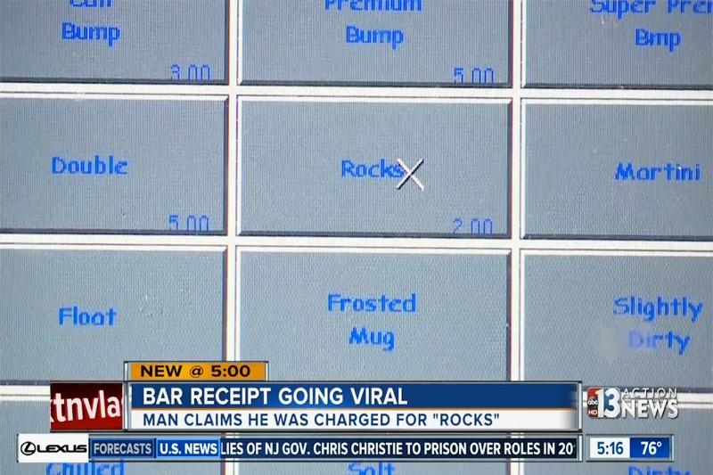 Rocks receipt