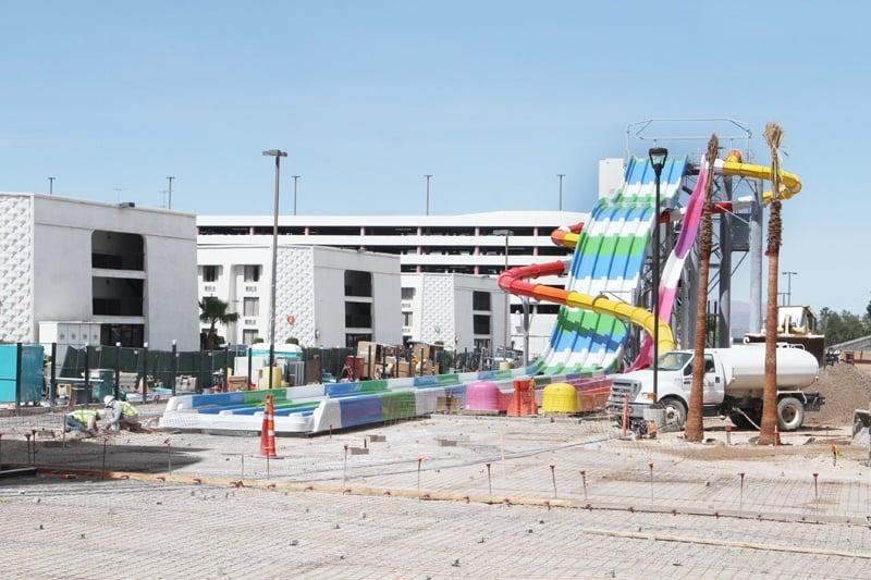 Circus Circus pool expansion