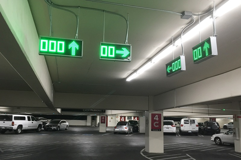 Caesars Palace paid parking