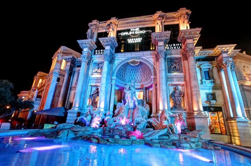 Trevi fountain Las Vegas