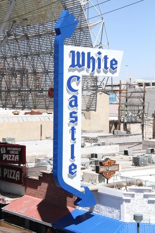 White Castle Fremont sign