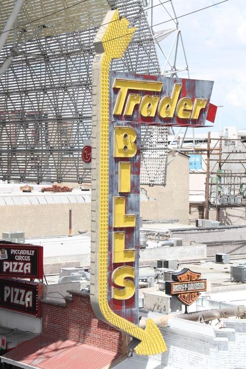 Trader Bill's sign