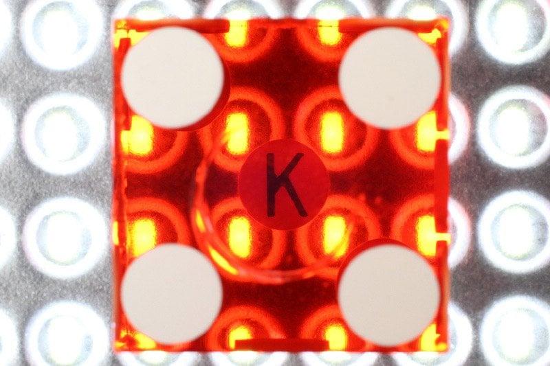 Dice key letter spot