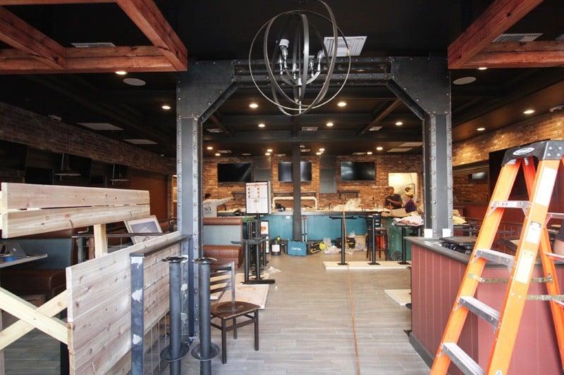 Flippin Good Burgers renovation