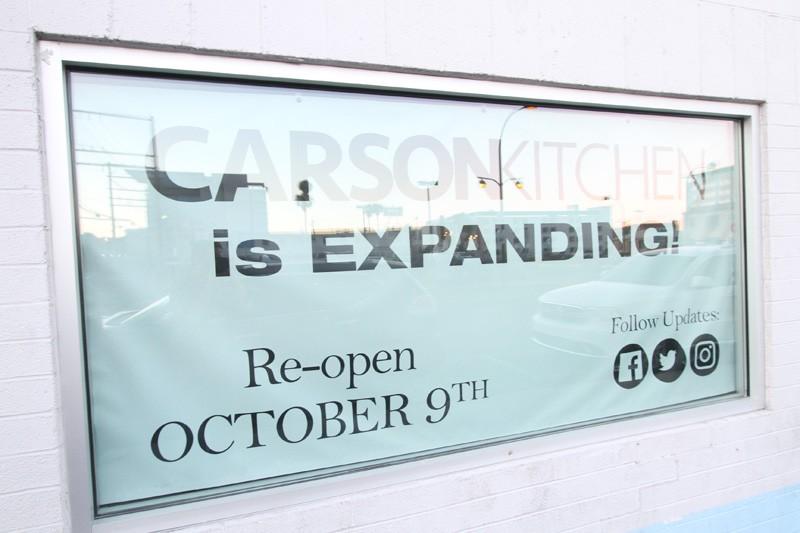 Carson Kitchen closed