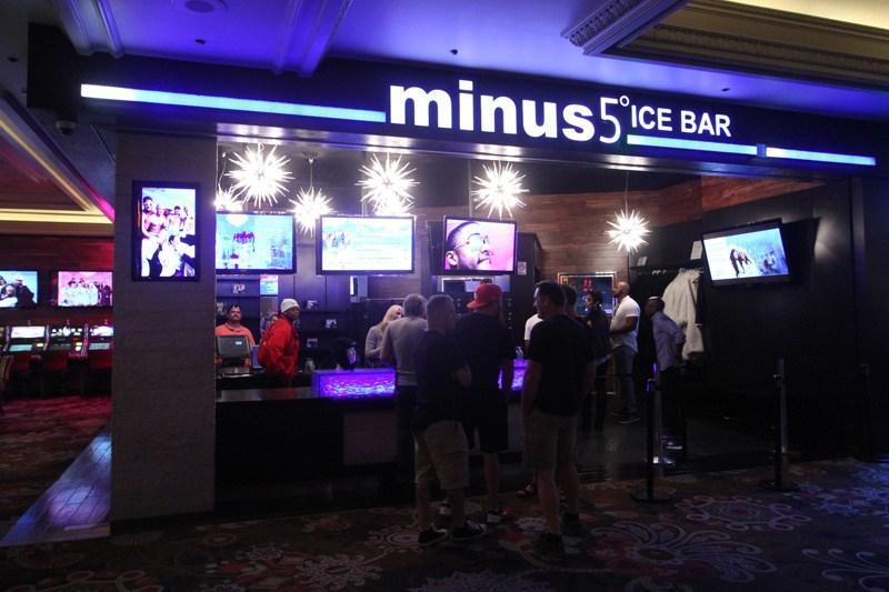 Monte Carlo Minus 5 Ice Bar