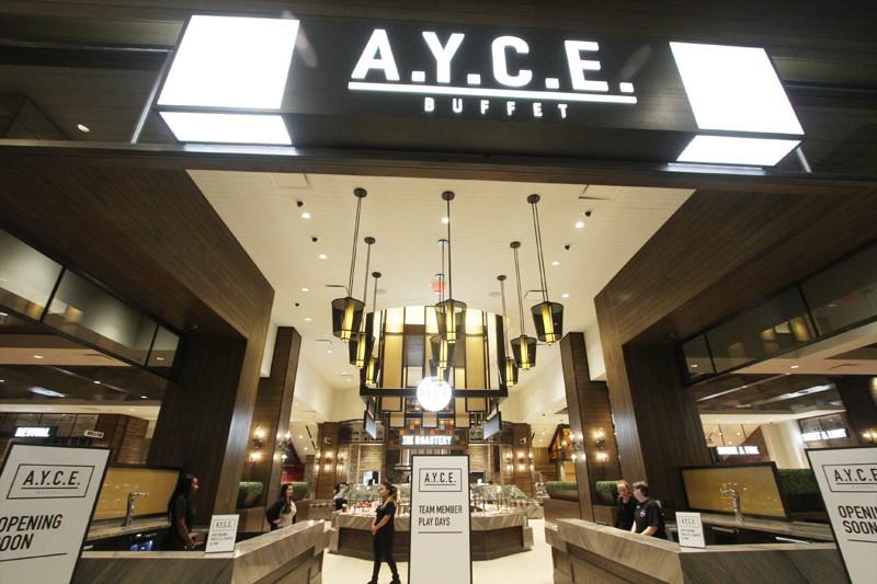 AYCE buffet Palms Vegas