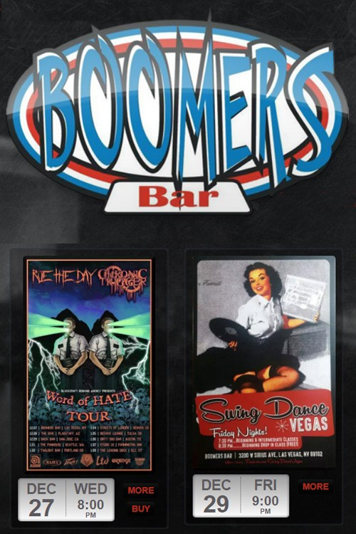 Boomers Las Vegas