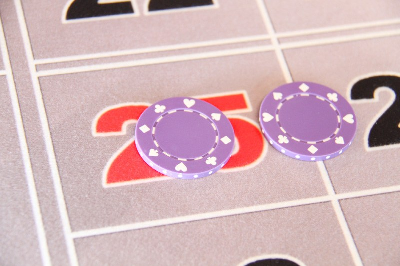 Roulette deck of cards