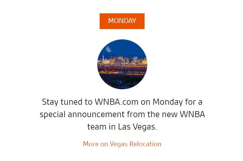WNBA announcement