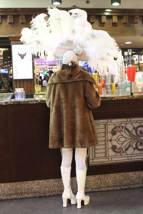 Winter showgirl
