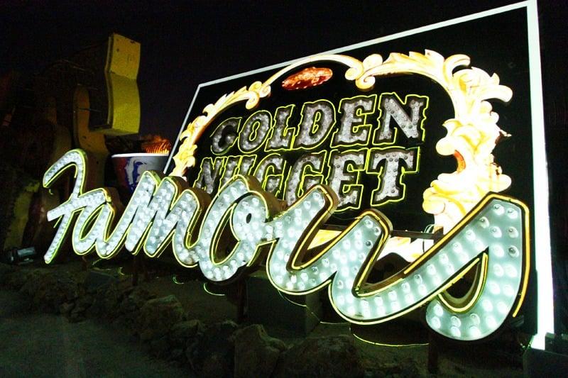 Neon Museum Brilliant show