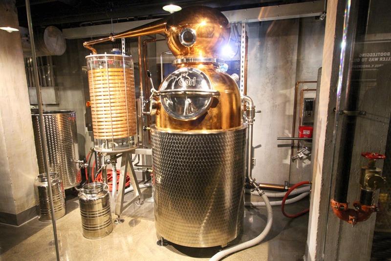 Mob Museum distillery