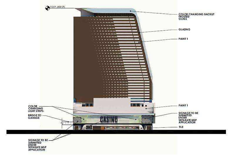 18 Fremont resort rendering