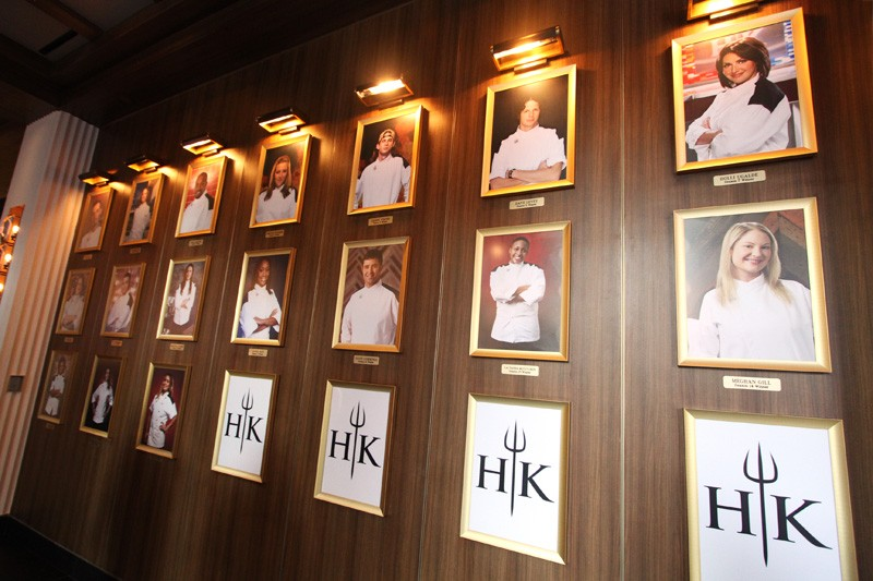 Hell's Kitchen wall of winners