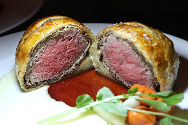 Hell's Kitchen beef wellington