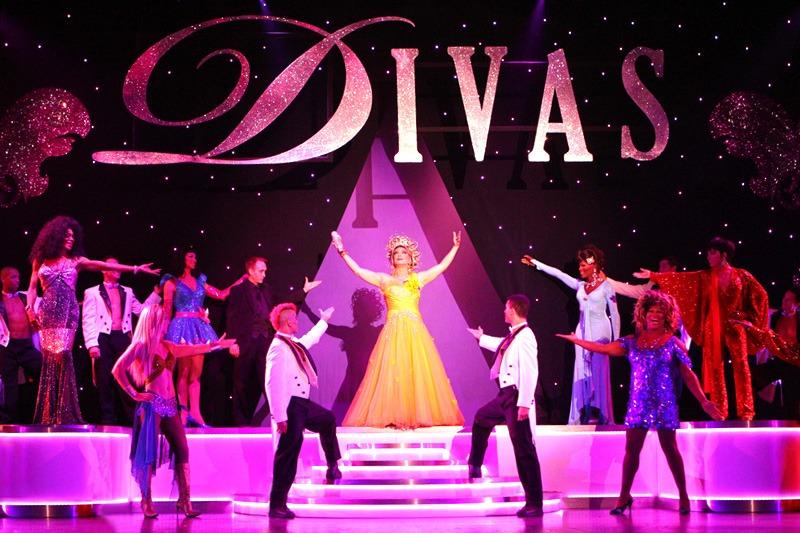 Divas Las Vegas curtain call