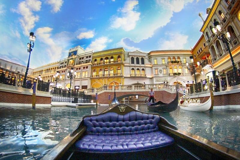 Venetian Las Vegas gondola