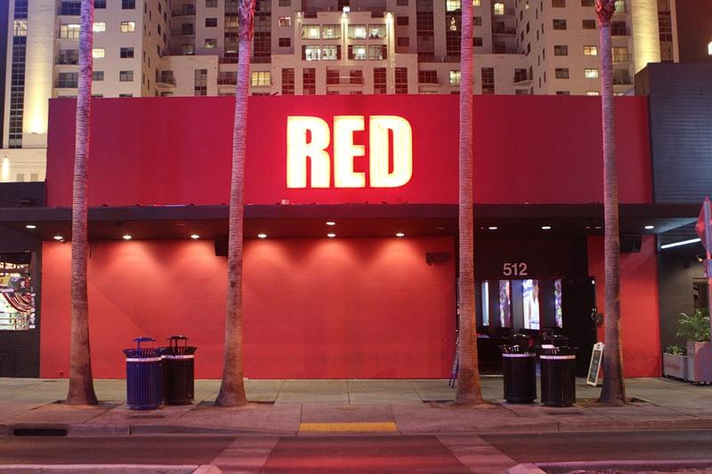 Red nightclub