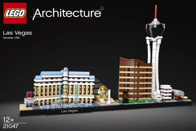 Lego Las Vegas set