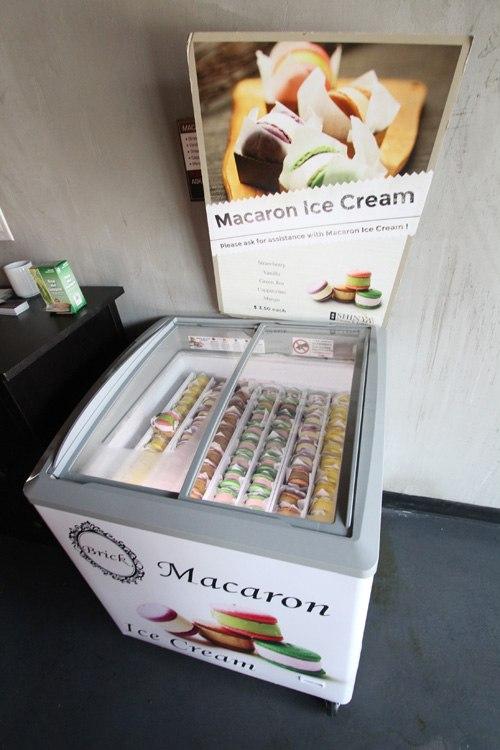 Shinya macaron ice cream