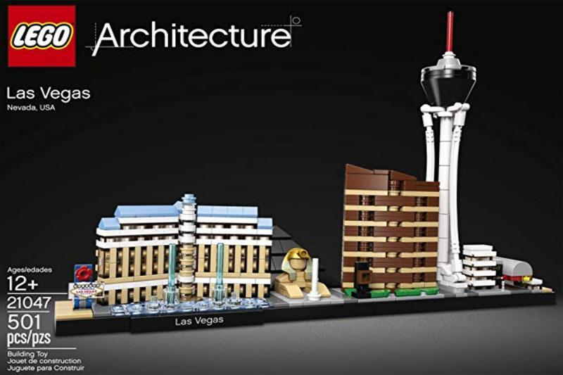 Lego Las Vegas Architecture
