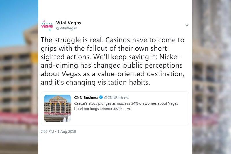 Vital Vegas outrage