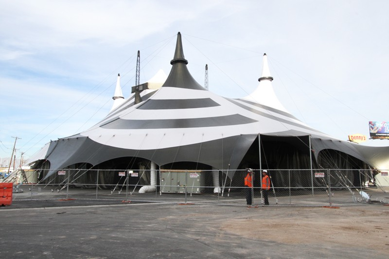 Celestia tent