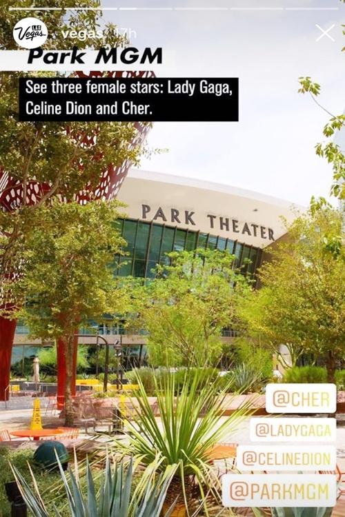 Celine Dion Park MGM