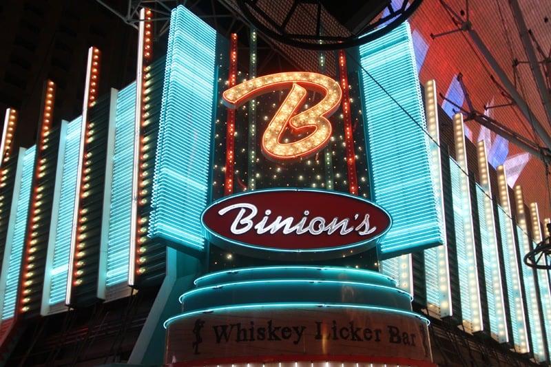 Binion's facade