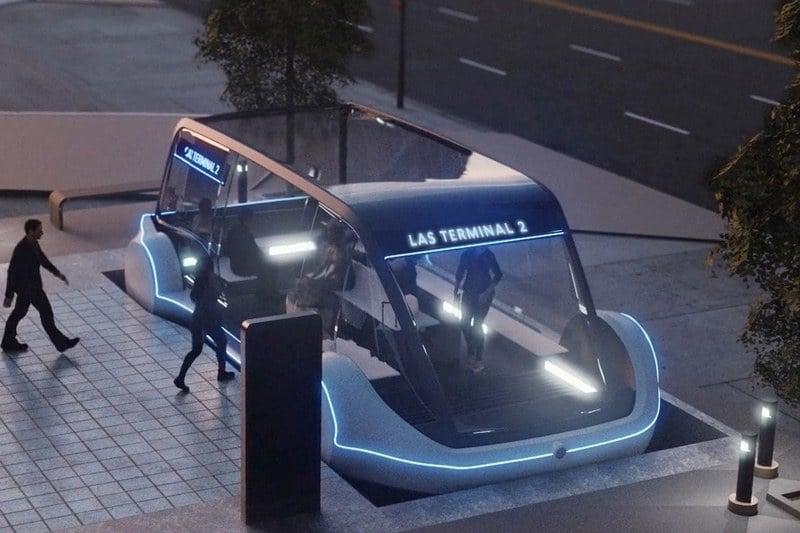 Elon Musk Las Vegas loop