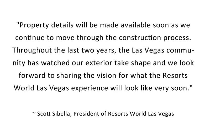 Resorts World statement