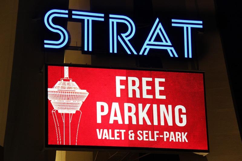 Strat free parking