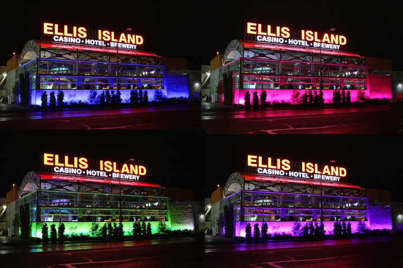 Ellis Island Front Yard