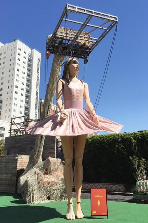 Lyft Art Park ballerina