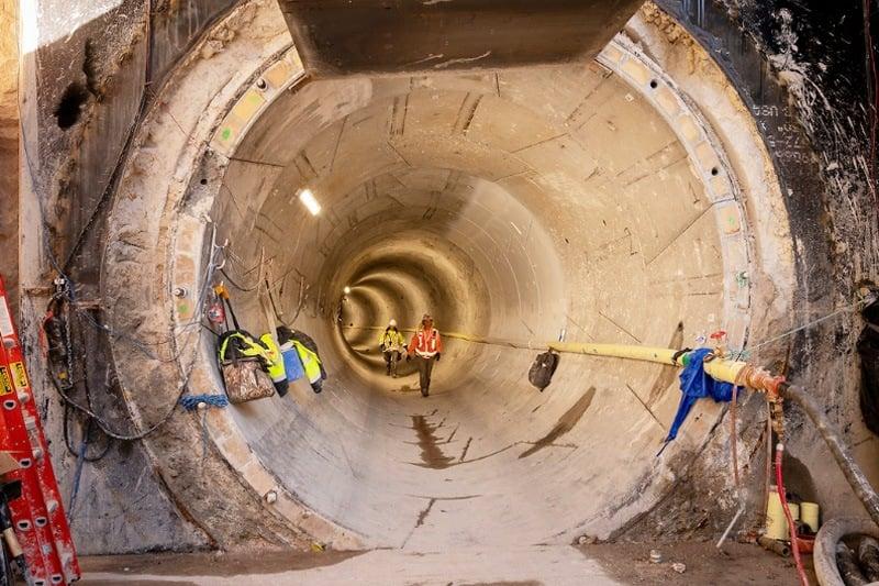 Elon Musk tunnel Las Vegas