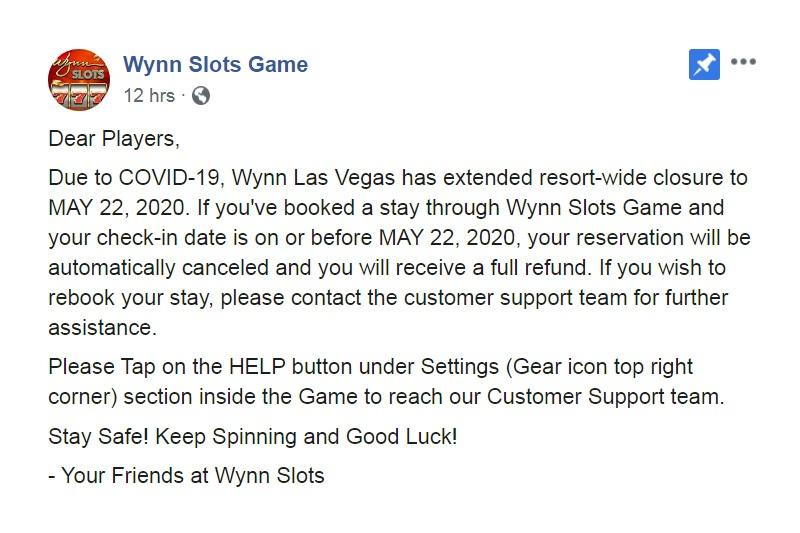 Wynn Slots Game
