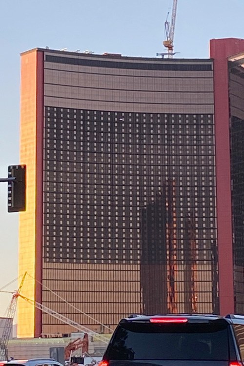 Resorts World video screen