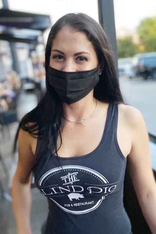 Waitress mask