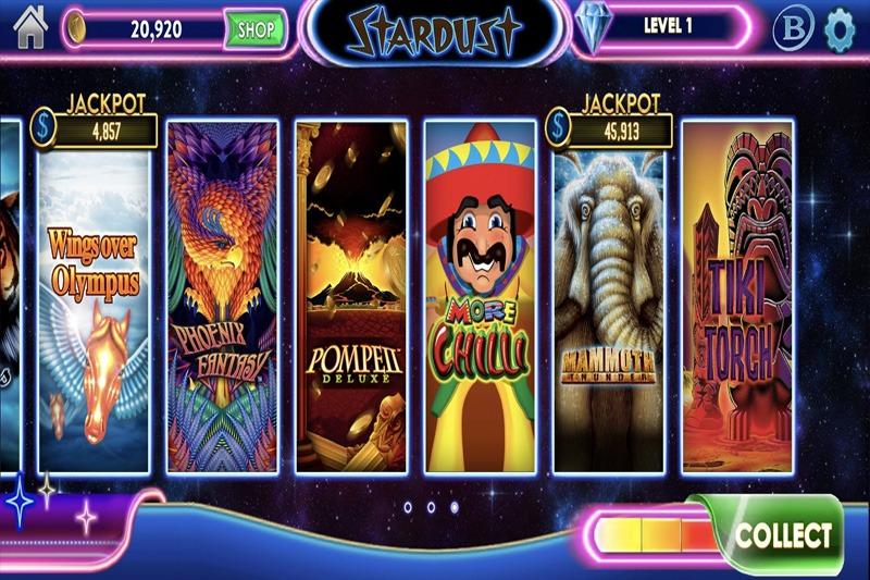 Aplikasi kasino Stardust