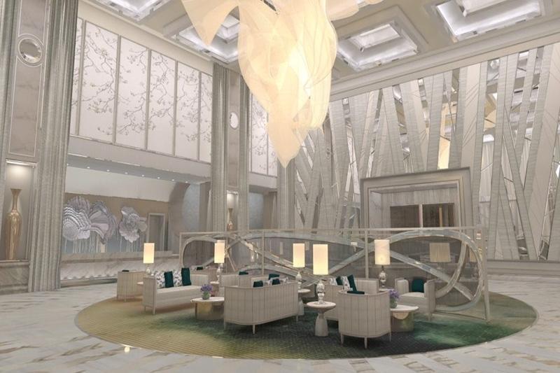 Crockfords Las Vegas lobby