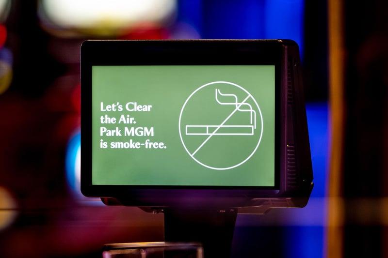 Park MGM smoke-free
