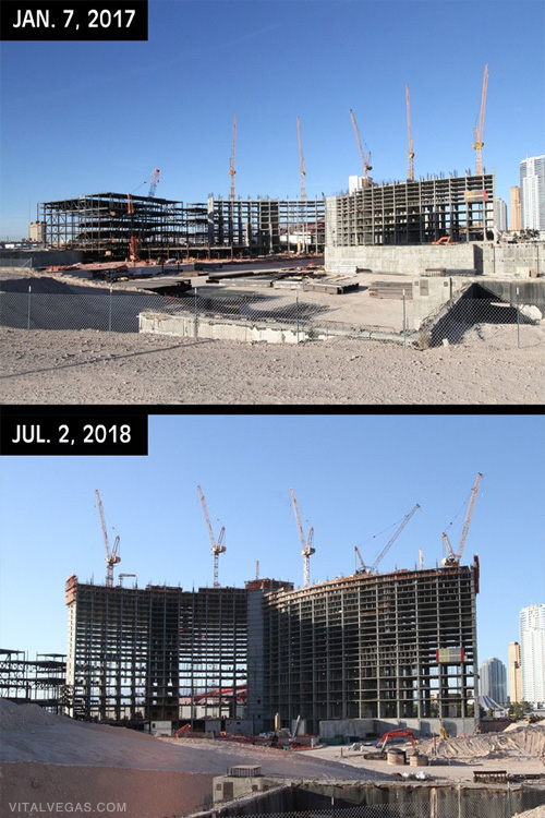 Resorts World construction