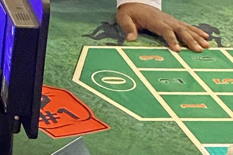 Plaza single zero roulette