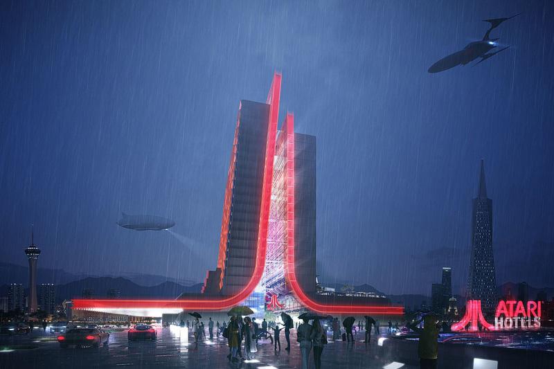 Atari hotel Vegas