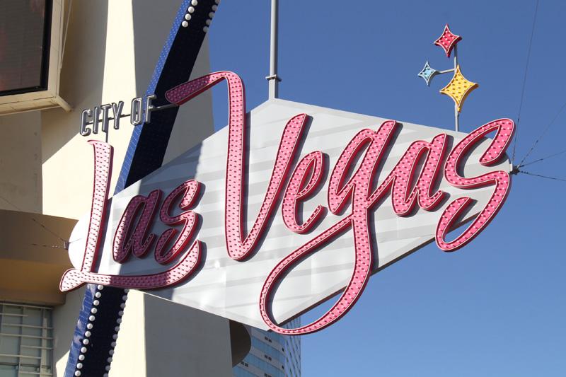 Vegas archway
